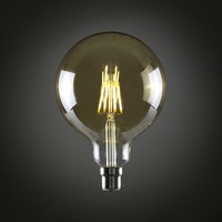 Vintage Filament Globe Opus Classic 5W LED Dimmable Gold Coated G95 Light Bulb